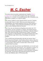 M. C. Escher - Kunst und Kunstunterricht