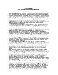 - Salvador Dali - 'Die Versuchung des heiligen Antonius' - Kunst und ...