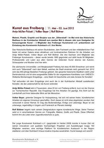 Kunst aus Freibergx - Kunstverein Kulmbach
