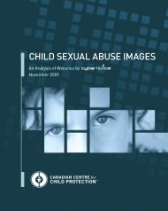 Child Sexual AbuSe ImageS - Canadian Centre for Child Protection