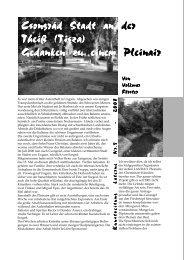 Kunstzeitung Laterne Nr.5 - 2008 - Kunstverein Laterne e.V.