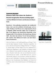 Den Pressetext dazu lesen - Kunstverein Rosenheim