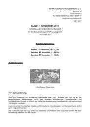 Ausschreibung Home page. - Kunstverein Rosenheim