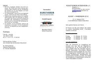 Ausschreibung lesen - Kunstverein Rosenheim