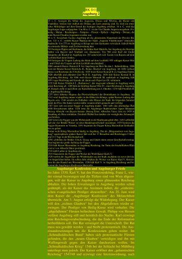 Augsburg II - Kunstwanderungen