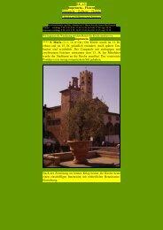Impruneta – Florenz - Kunstwanderungen
