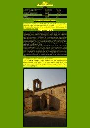S. Quirico – Chiusure - Kunstwanderungen