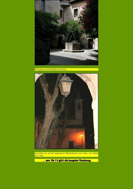Centro RAI – Cesano - Kunstwanderungen