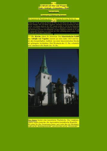Gräfrath mit Itter und Wupper - Kunstwanderungen