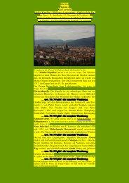 Florenz IV - Kunstwanderungen