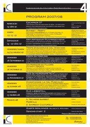 Jahresprogramm 4 2007 2008 deutsch und romanisch ... - Kunstwege