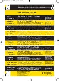 Jahresprogramm 6 2009 deutsch und romanisch PDF ... - Kunstwege