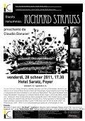 Freitag, 28. Januar 2011, 17.30 Uhr Hotel Saratz ... - Pitschna Scena - Page 2