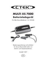 MULTI XS 7000 - Ctek