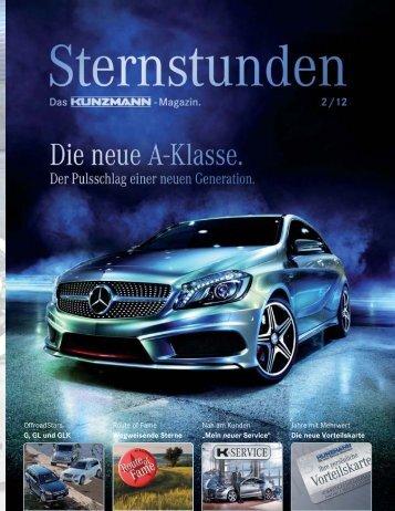 Zum Magazin - Mercedes-Benz Kunzmann