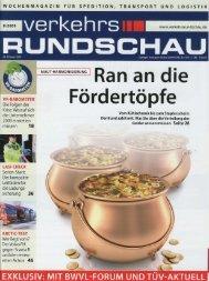 Ran an die Fördertöpfe - KUNZER GmbH