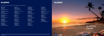 Reiseprogramm als PDF - Kuoni