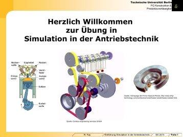 Organisatorische Hinweise (PDF, 676,5 KB) - Konstruktion und ...
