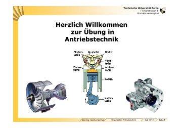 Organisation Antriebstechnik WS11/12 - Konstruktion und ...
