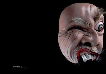 Bondres-Masken, Bali