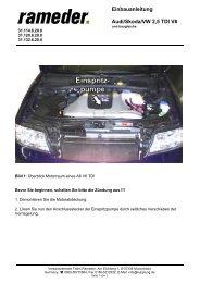 31.114.6.20.0 V6 TDI neu