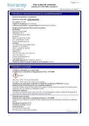 Fişa cu date de securitate - Kuraray Dental