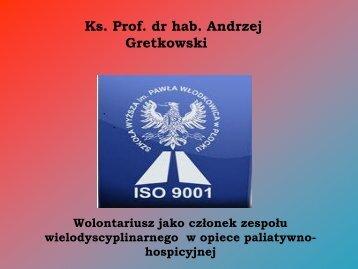 Szkoła Wyższa im. Pawła Włodkowica w Płocku Ks. Prof. dr hab ...