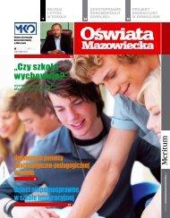 Oświata Mazowiecka nr 13 (październik 2012) - Kuratorium Oświaty ...
