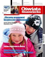 Oświata Mazowiecka nr 14 (grudzień 2012/styczeń2013)