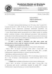 pismo przewodnie (pdf) - Kuratorium Oświaty we Wrocławiu