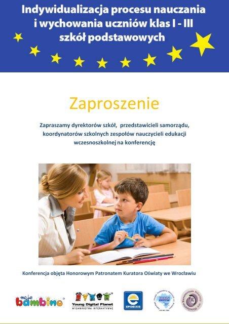 zaproszenie - dolnośląskie 2 - Kuratorium Oświaty we Wrocławiu