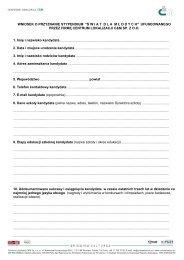 Wniosek o przyznanie stypendium - Kuratorium Oświaty we Wrocławiu