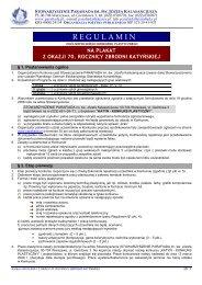 Regulamin konkursu na plakat (pdf)