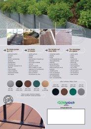 Govaplast palen, planken en platen uit gerecycleerde ... - Enviroplast