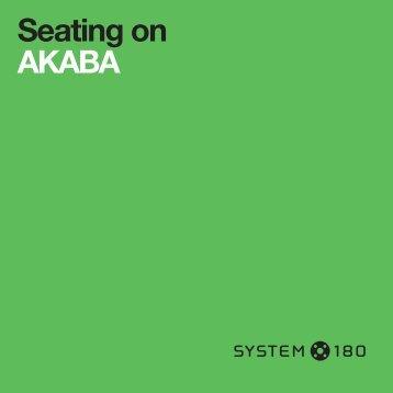 Seating on... AKABA.indd - Kurfuerstendamm.de