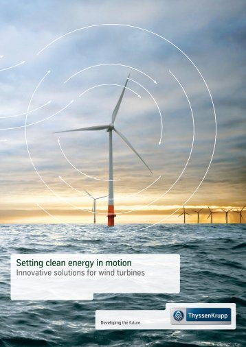 Setting clean energy in motion