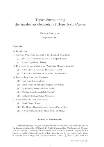 Topics Surrounding the Anabelian Geometry of Hyperbolic Curves