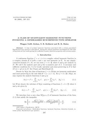 A class of multivalent harmonic functions involving a generalized ...
