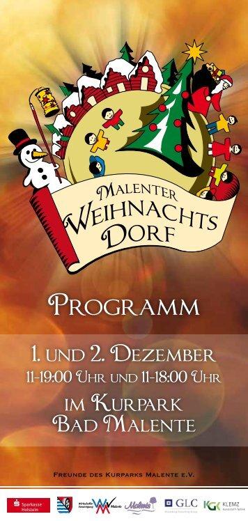 Programm 2012 - Kurpark Malente