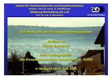 Folien zum Vortrag (PDF 1,5 MB) - KURS