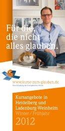 Broschüre - Kurse-zum-glauben.org