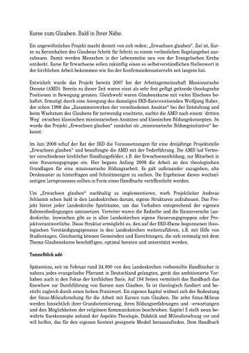 Artikel von Andreas Schlamm in Impuls Gemeinde 1 - Kurse-zum ...
