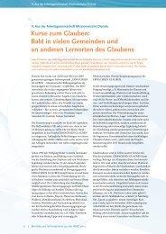 AMD-Jahresbericht 2010 - Kurse-zum-glauben.org