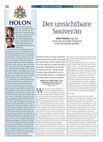 holon-netzwerk - KursKontakte
