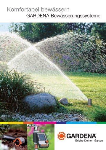 Komfortabel bewässern - Ambergauer Brunnenbau