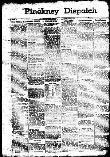 10-31-1956 - Village of Pinckney
