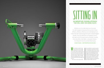 An indoor bike trAining ApproAch thAt will hAve you going ... - Kinetic
