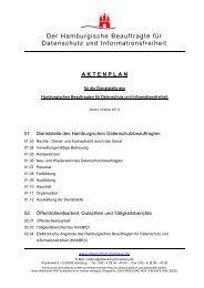 AKTENPLAN - Der Hamburgische Beauftragte für Datenschutz