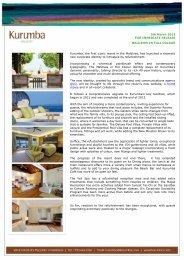 press release - Kurumba Maldives