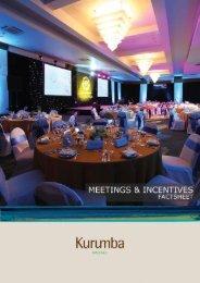 Meetings and Events factsheet - Kurumba Maldives